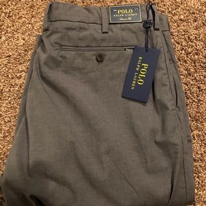 Ralph Lauren polo gray classic fit slacks 34x30